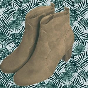 Beige Ankle Boots by Report